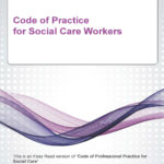 Easy Read Code of professional practice for service users and carers